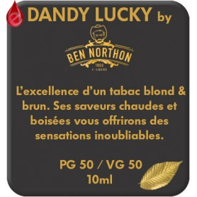 DANDY - LUCKY e-liquide 10ml DANDY® PARIS par liquideo