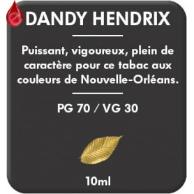 DANDY - HENDRIX e-liquide 10ml DANDY® PARIS par liquideo