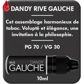 DANDY - RIVE GAUCHE e-liquide 10ml DANDY® PARIS par liquideo