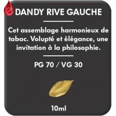 DANDY - RIVE GAUCHE e-liquide 10ml DANDY® PARIS par liquideo