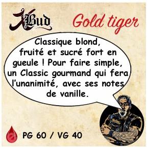 X-Bud GOLD TIGER 10ml X-BUD