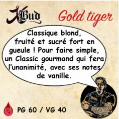 X-Bud GOLD TIGER 10ml X-BUD