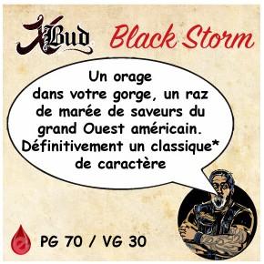 X-Bud BLACK STORM 10ml X-BUD