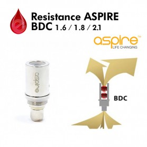 Resistance 1.6/1.8/2.1 ohm aspire BDC