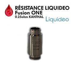 Mèches, Résistances resistance LIQUIDEO FUSION ONE