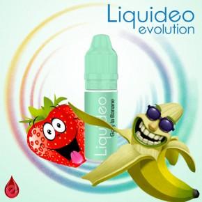 GARY LA BANANE (fraise banane) LIQUIDEO 10ml LIQUIDEO (labo français) pas cher