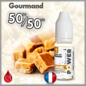 50/50 CARAMEL - Flavour POWER - e-liquide 10ml FLAVOUR POWER
