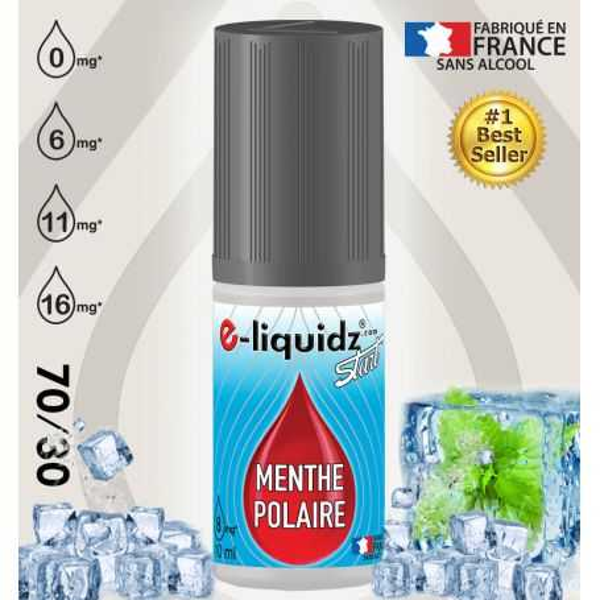 e-liquide pas cher MENTHE POLAIRE e-liquidz START • eliquide 10ml