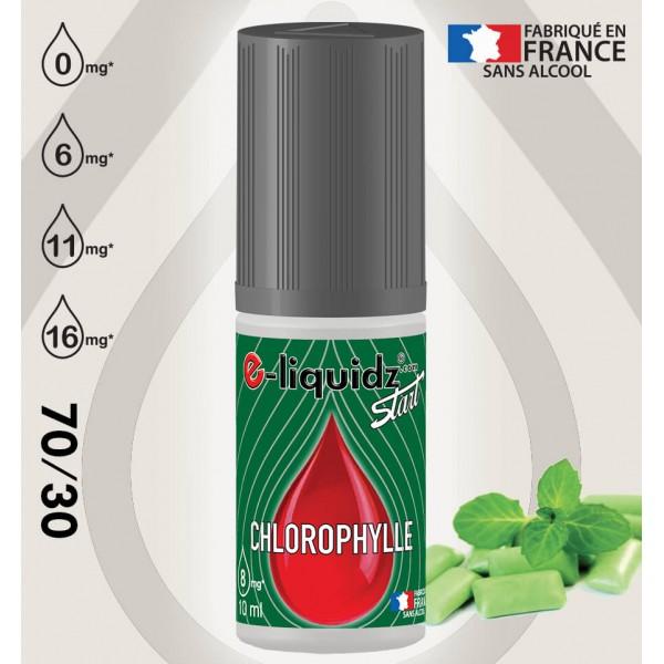 Chewing-gum CHLOROPHYLLE e-liquidz START • eliquide 10ml e-liquidz START • e liquide pas cher !