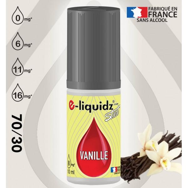 e-liquidz START VANILLE DES ILES e-liquidz START • eliquide 10ml