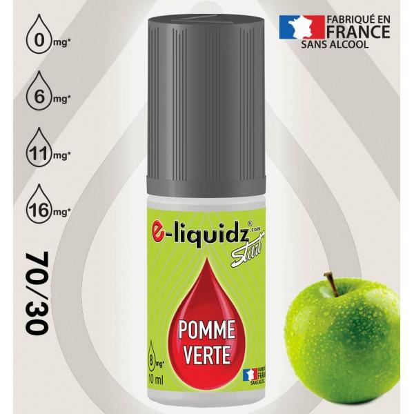 POMME VERTE e-liquidz START • eliquide 10ml e-liquidz START • e liquide pas cher !