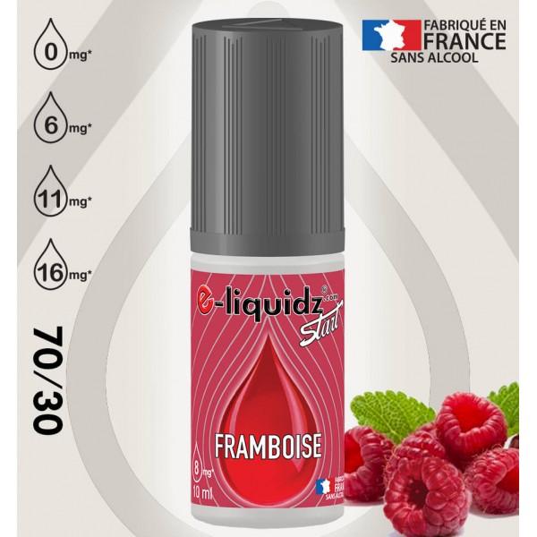FRAMBOISE e-liquidz START • eliquide 10ml e-liquidz START • e liquide pas cher !