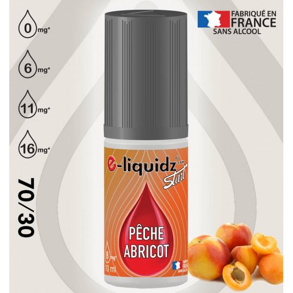 e-liquidz START PÊCHE/ABRICOT e-liquidz START • eliquide 10ml