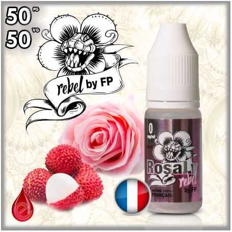 50/50 ROSALY REBEL - Flavour POWER - e-liquide 10ml FLAVOUR POWER