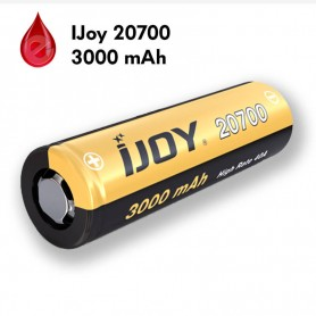 ACCU 20700 IJoy 3000 MAH