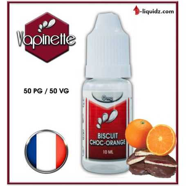 BISCUIT CHOC-ORANGE - VAPINETTE Vapinette