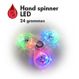 FIDGET HAND SPINNER LED
