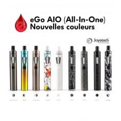 e-cigarettes Joyetech - eGo AIO- D19 NOUVELLES COULEURS