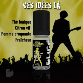 CES IDÉES LÀ - LOUIS BERTIGNAC e-liquide