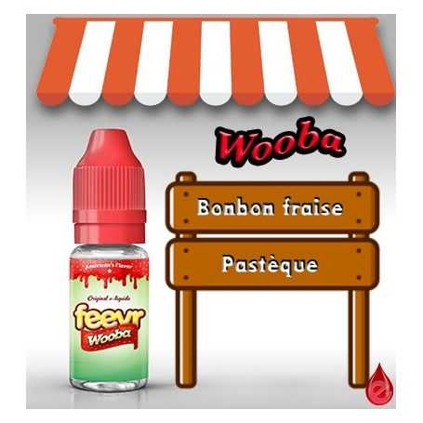 FEEVR WOOBA - FEEVR e-liquide