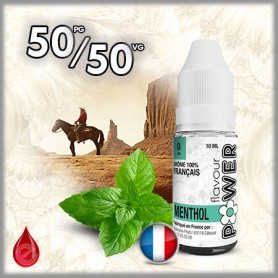 50/50 MENTHOL - Flavour POWER - e-liquide 10ml