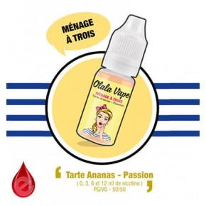 MENAGE A TROIS - OLALA VAPE e-liquide