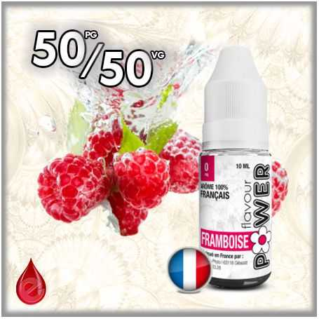 FRUITE 50/50 FRAMBOISE - Flavour POWER - e-liquide 10ml