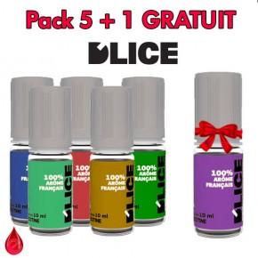 D'LICE PACK DE 5 + 1 GRATUIT