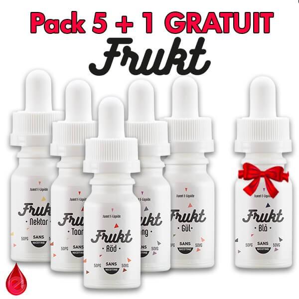 PACKS FRUKT PACK DE 5 + 1 GRATUIT