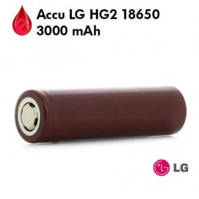 ACCU LG HG2 18650 20A 3000 MAH