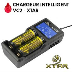 Chargeur d'accus 18xxx VC2 - XTAR