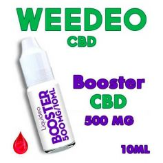 BOOSTER CBD 500mg/ml - WEEDEO CBD