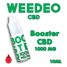 BOOSTER CBD 1000mg/ml - WEEDEO CBD