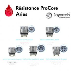 Résistances ProC ProCore joyetech