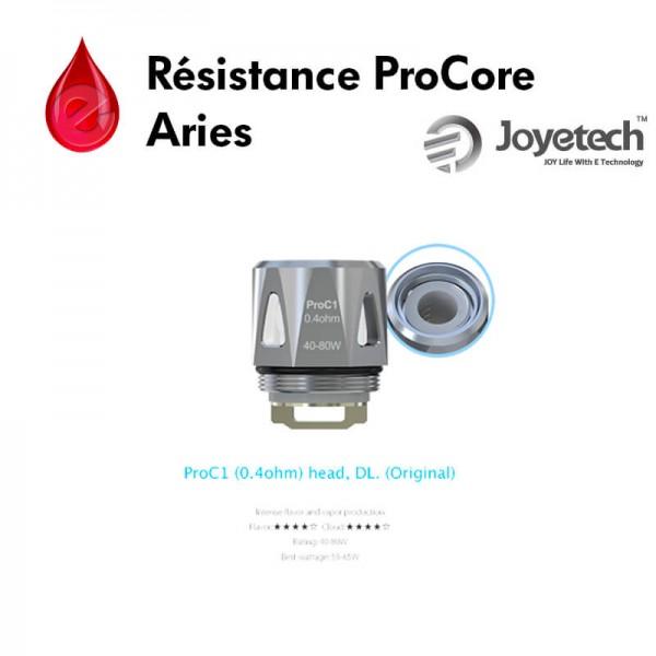 Résistances ProC1 ProCore joyetech