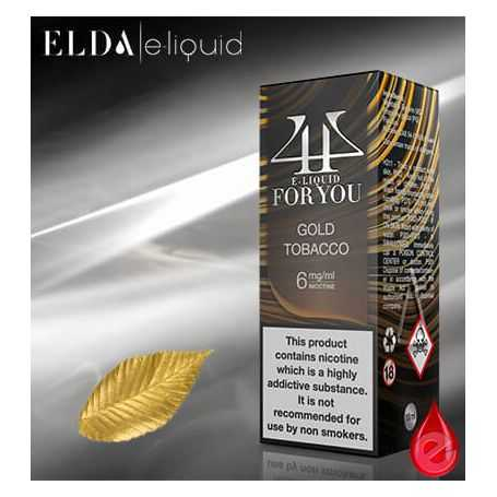 FOR YOU by elda GOLD TOBACCO - FOR YOU by elda