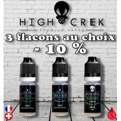 HIGH CREEK Pack Promo De 3 Flacons