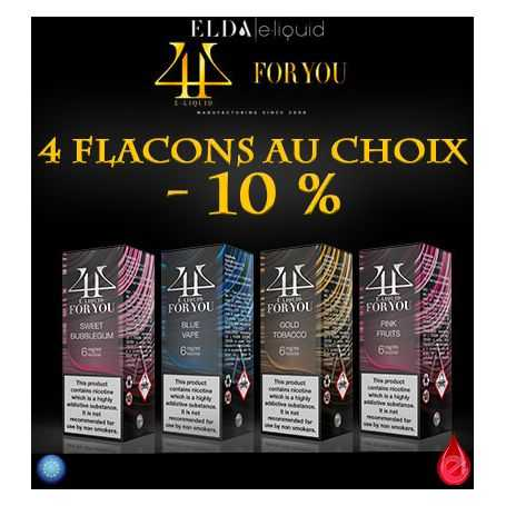 FOR YOU Pack Promo De 4 Flacons