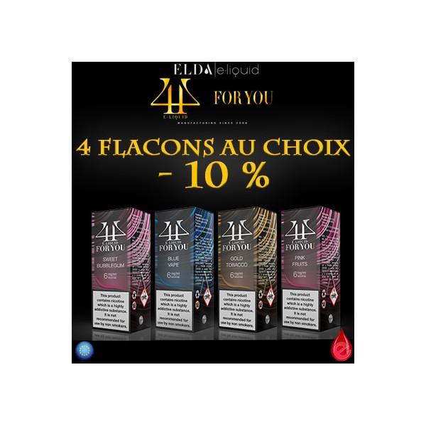 FOR YOU Pack Promo De 4 Flacons