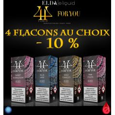 PACKS FOR YOU Pack Promo De 4 Flacons