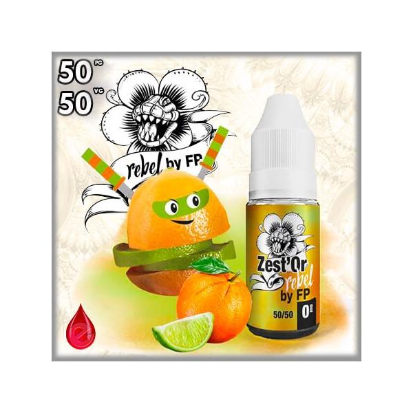 50/50 ZEST'OR REBEL - Flavour POWER - e-liquide 10ml