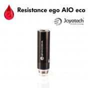 Mèches, Résistances Resistance ego AIO eco Joyetech
