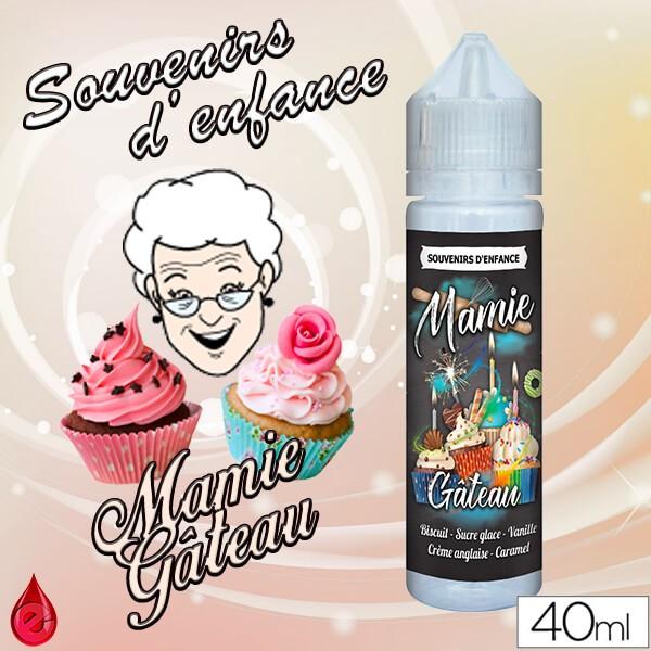 MAMIE GATEAU - SOUVENIRS D'ENFANCE - e-liquide 40ml