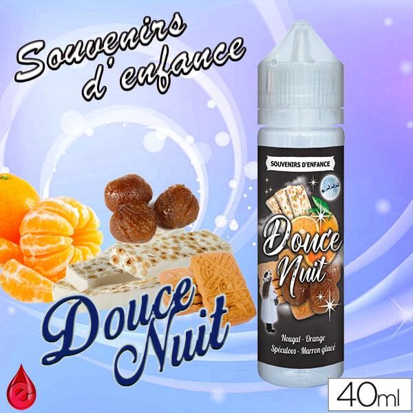 SOUVENIRS D'ENFANCE DOUCE NUIT - SOUVENIRS D'ENFANCE - e-liquide 40ml
