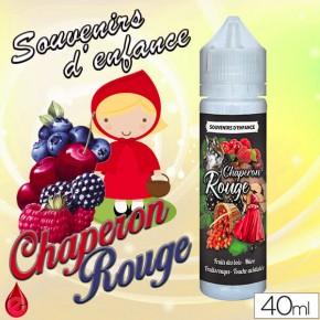 CHAPERON ROUGE - SOUVENIRS D'ENFANCE - e-liquide 40ml