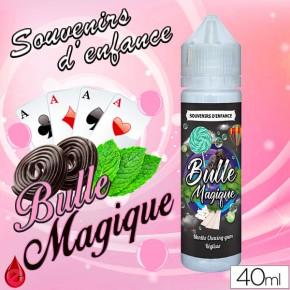 BULLE MAGIQUE - SOUVENIRS D'ENFANCE - e-liquide 40ml