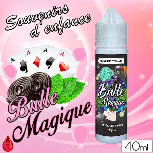 SOUVENIRS D'ENFANCE BULLE MAGIQUE - SOUVENIRS D'ENFANCE - e-liquide 40ml