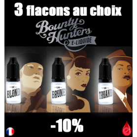 BOUNTY HUNTERS PACK DE 3 FLACONS