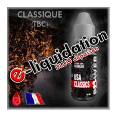 TABAC USA CLASSIC - DÉSTOCKAGE Flavour POWER - e-liquide 10ml
