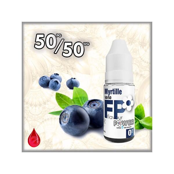 50/50 MYRTILLE - Flavour POWER - e-liquide 10ml